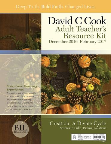 Sunday school lessons bible lessons for adults Bible-in-Life curriculum-kit
