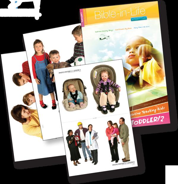 Toddler Children's Sunday School Curriculum Bible-in-Life Creative Teaching Aids
